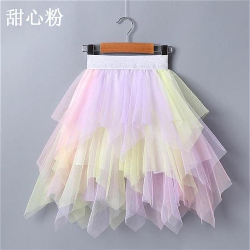 Vidmid Bebek Kız Etekler Tutus çocuk Giysileri Dipleri Dot Kızlar Tutu Puf Prenses Dans Etek Çocuk Kostüm P158 210529