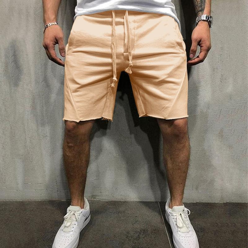 Ropa de gimnasio El último verano moda ocio hombres pantalones cortos masculinos bermudas pantalones cortos, pantalones de playa deportes transpirables