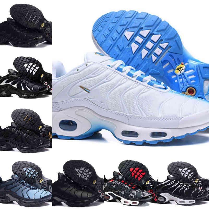 Satış 2021 TN Erkek Ayakkabı Siyah Beyaz Kırmızı Klasik TN Artı Ultra Spor Koşu Ayakkabıları Ucuz TNS Requin Airs Basketbol Tasarımcısı Eğitmen Sneakers F17