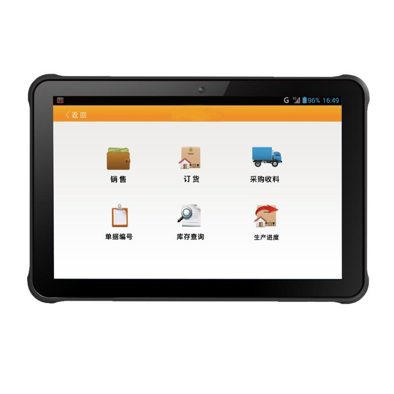 """Scanners Original Industrial Industrial Android 9.0 Tablet PC IP65 Imperméable Téléphone Qualcommun Snapdragon 10,1 """"4GB RAM 64GB ROM X3 Scanner"""