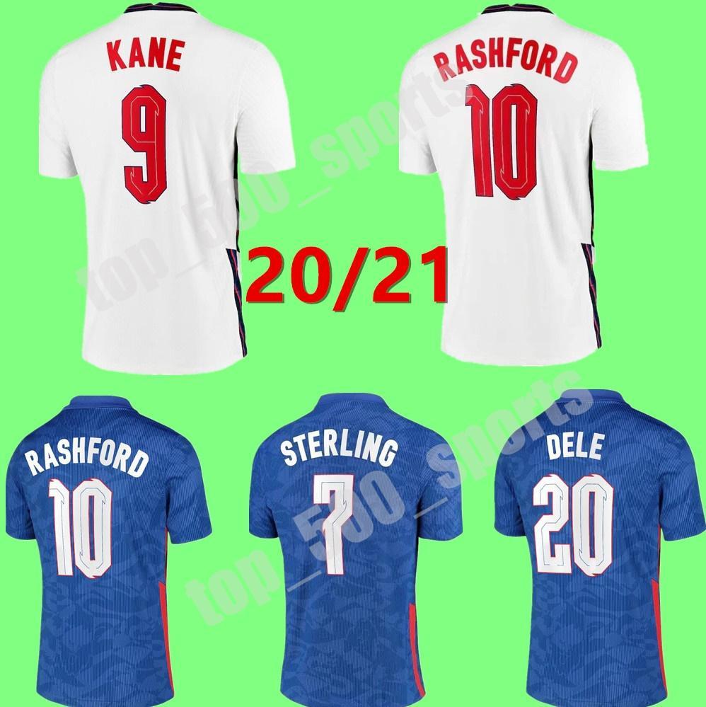2021 남자 키즈 홈 멀리 국가 대표팀 Rashford Kane 축구 유니폼 20 21 Camisetas de Fútbol Sterling Sancho 축구 셔츠