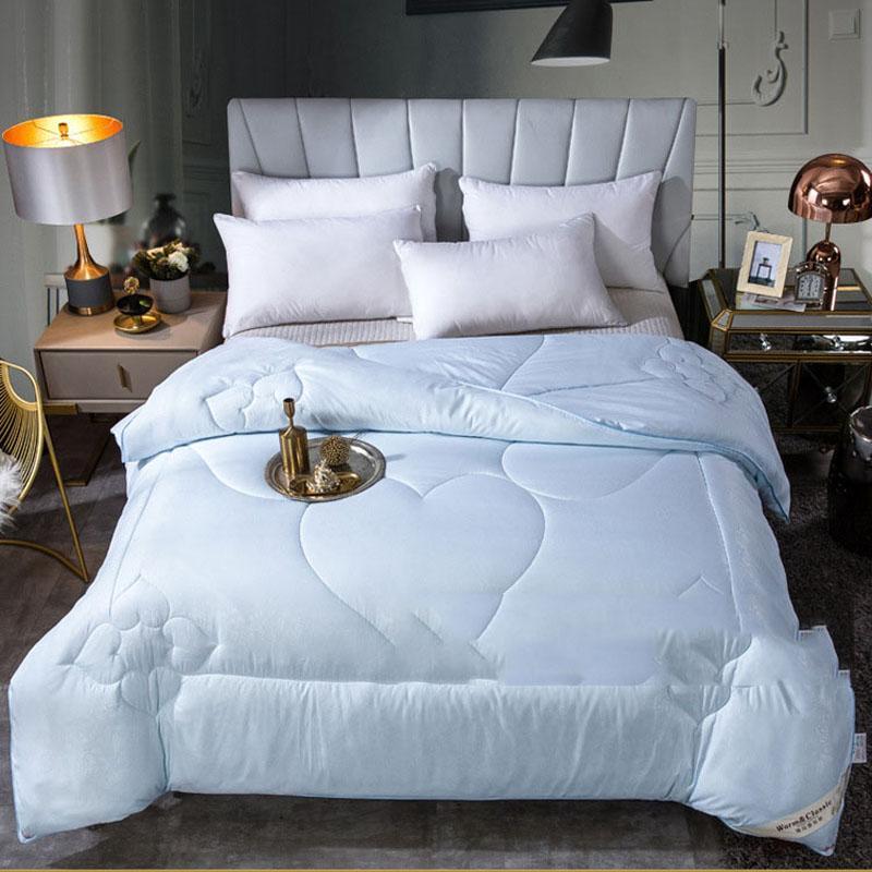 Bettdecken setzt Sommer-Quilt-Decke für Bett super weiche kühle Wurfbett-Bettdecke Doppelkönigin King Waschbare Klimaanlage Bettdecke