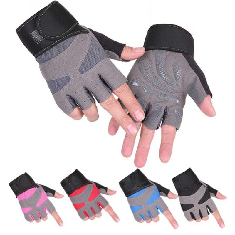 Cycling Gloves Tactical OutDoor Gym Workout Half Finger Mountaining Riding Weight Lift Use Durable Non Slip Anti