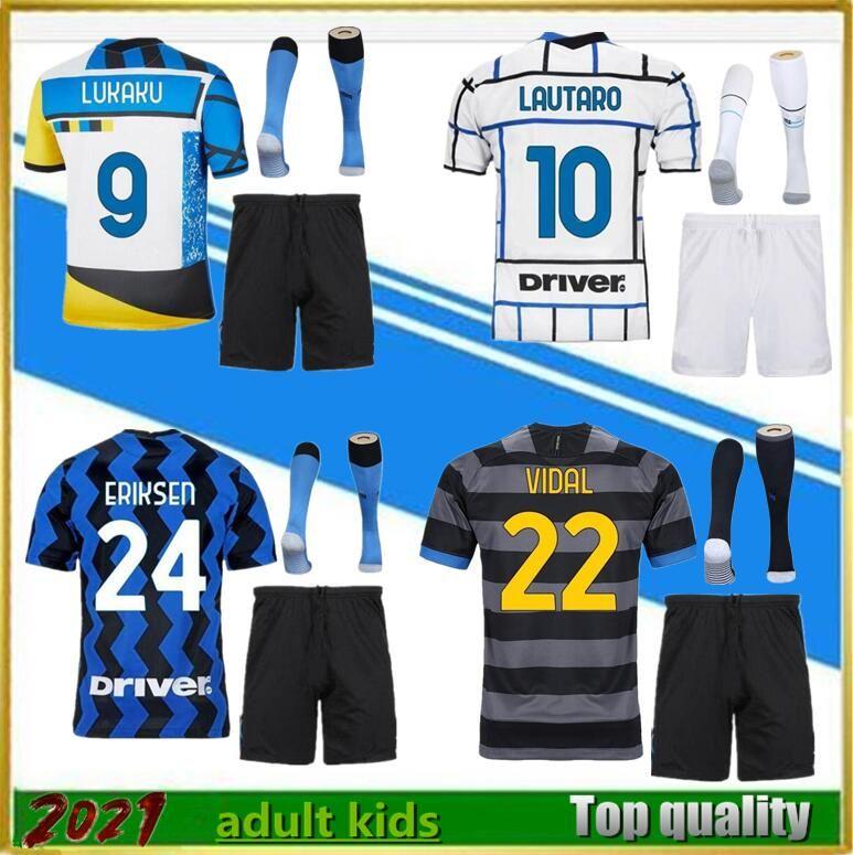 Maillots de foot 20 21 Home soccer jersey 2020 2021 jersey camisetas football kit shirt men sets+sock No. 2