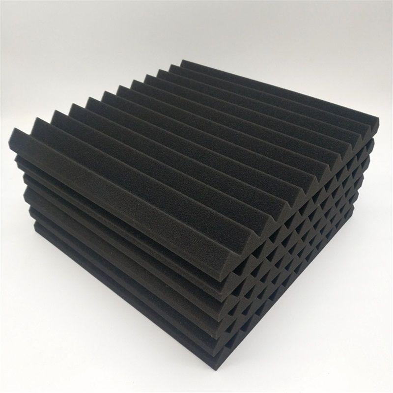 48 stücke Gebäude liefert akustische Panels Studio schallisoliert Foam Wedge Fzflr 1333 v2