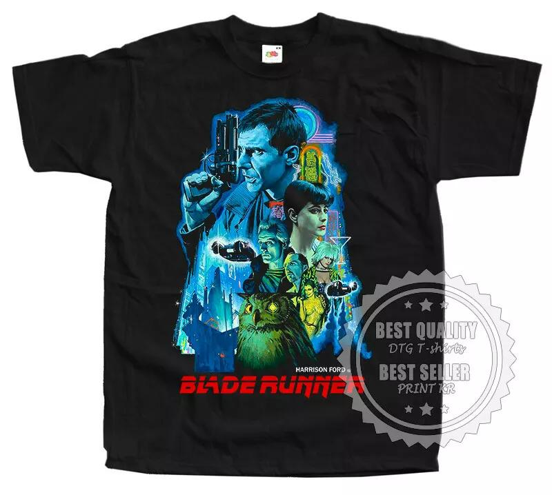 Blade Runner 1982 v20 T SHIRT TEE movie poster BLACK all sizes S - 5XL
