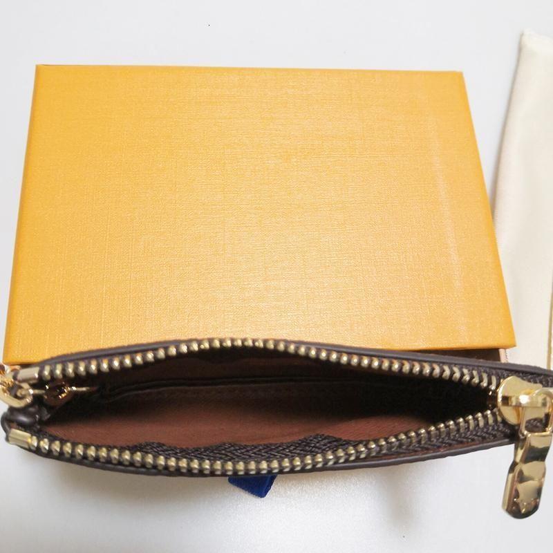 Mens Pouch Key Holder Handbags Leather Card Chain Mini Wallets Coin Purse K05 0827