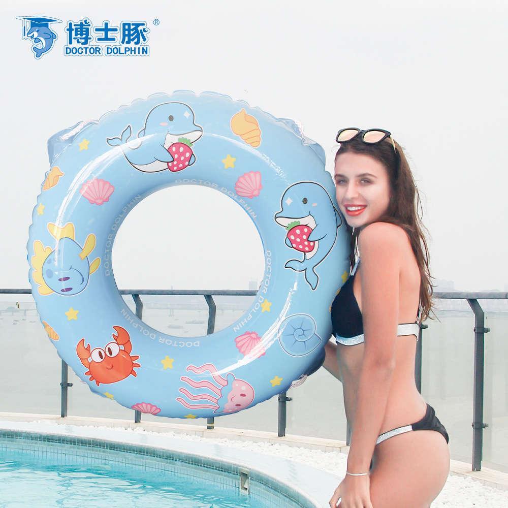 Medico Dolphin Gonfiabile PVC Materiale del cartone animato Design per bambini Nuoto per bambini Circolo