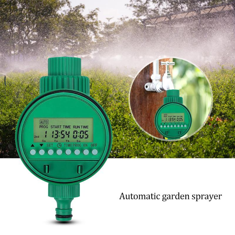 Waterproof Garden Automatic Electronic Watering Faucet Irrigation Controller Sprinkler Lawn Drip Equipments