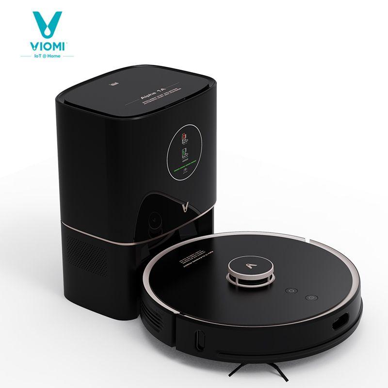 VIOMI-ROBOT-Staubsauger S9 mit 950W, intelligenter automatischer Staubkollektor, LED-Anzeige, 2700pa, zum Fegen und Waschbodenmatten