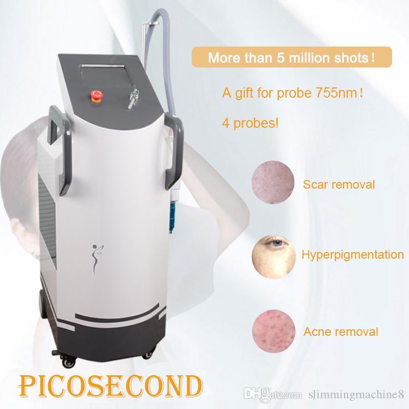 2020 Nowy YAG Laser Profesjonalny Pico Brwi Maszyna do usuwania Tatuaże do mycia brew Cleaner Pigmentation Usuwanie Q Switch Machine