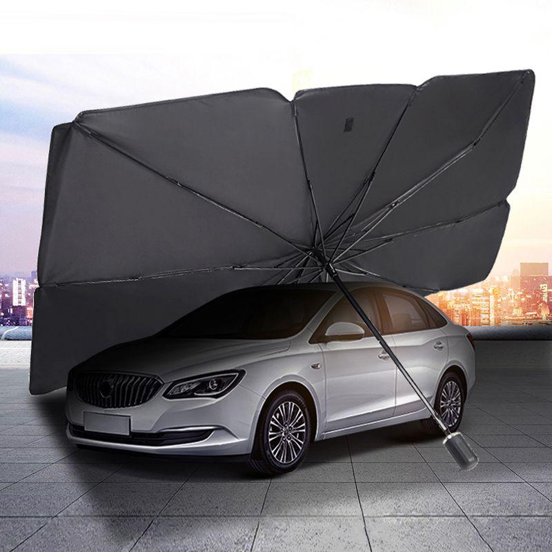 Pare-pare-pare-pare-pare-pare-soleil parapluie parapluie Auto Fenêtre avant - Sun Sun Shade Couvre Heat isolation thermique Protection UV Accessoires de parasol