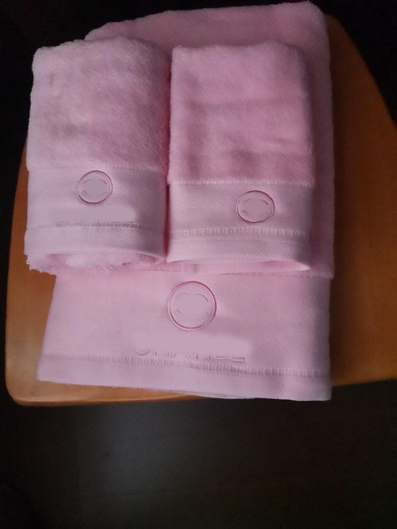High quality Luxury Designer brand 3pcs set cotton bath towel 1pc 2pcs face towels 895