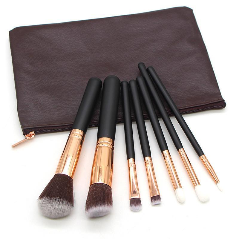 7/10 / 15 stücke Kosmetische Makeup Pinsel Set Pulver Foundation Lidschatten Eyeliner Lippenbürste Werkzeug Make up Schönheit Werkzeuge