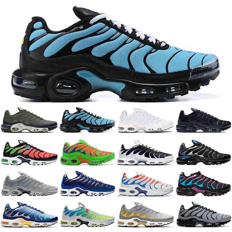 transpirable tn plus se hombres correr zapatos triple negro blanco cráter psíquico azul beso mis entrenadores para hombre zapatillas deportivas Tamaño 40-46