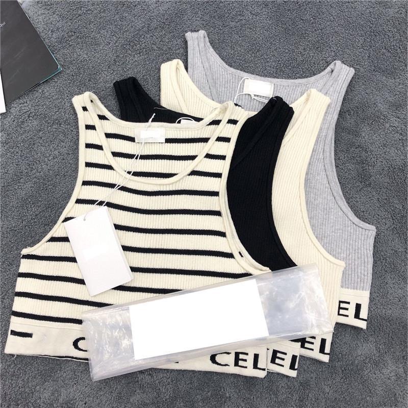 Sommer elastische Frauen Tanks Mode Brief Druck Marke Camis Outdoor atmungsaktive weiche touch mädchen sportwesten