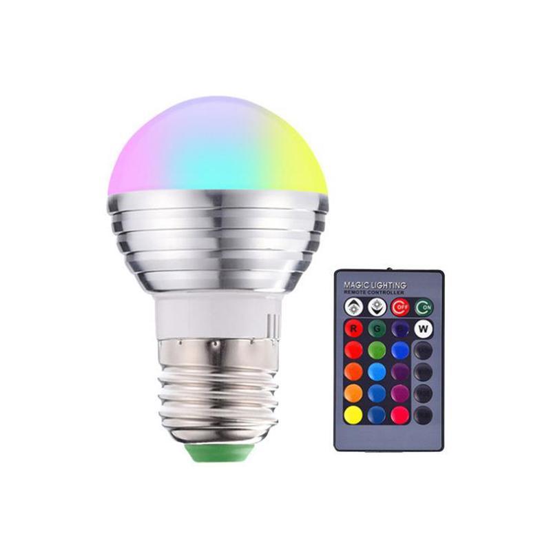 Heißer Verkauf E27 3W RGB LED Dimmbare Glühbirne 85-265V Glühbirne Büro Neue und hochwertige Glühbirnen