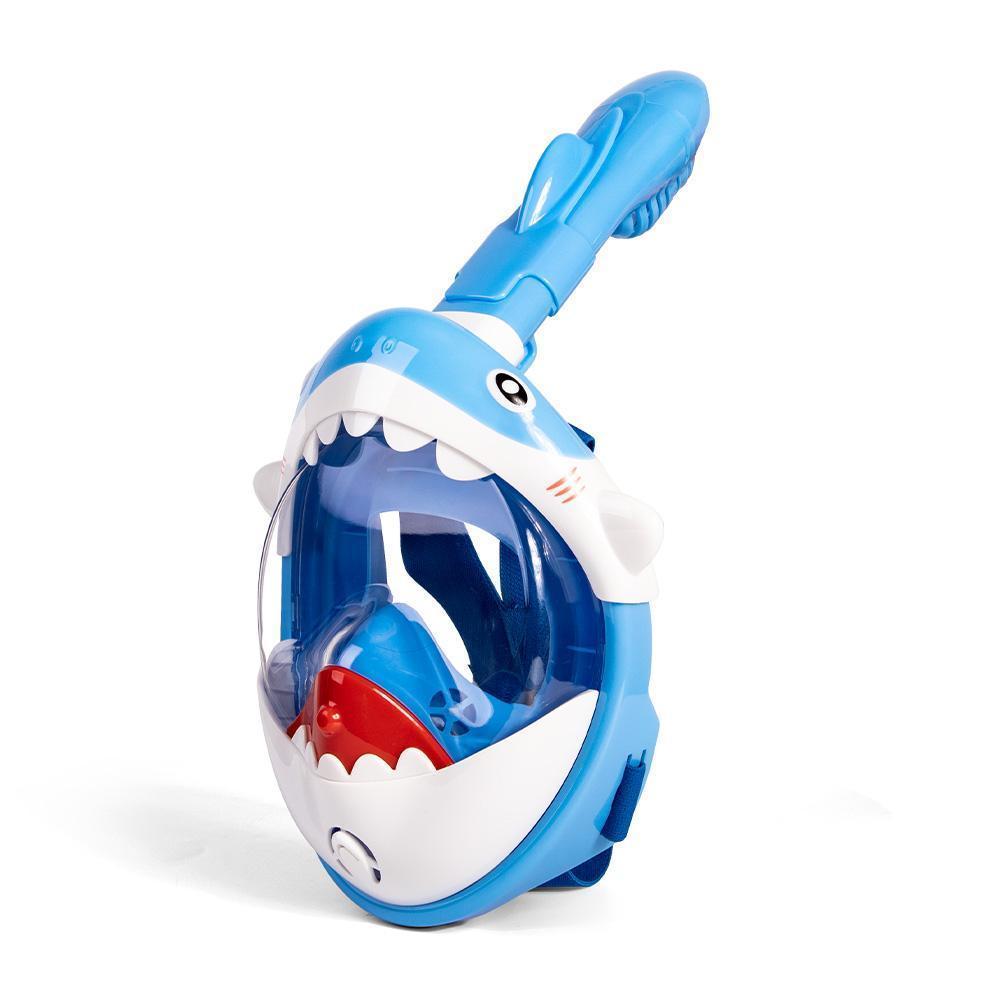 2020 아이를위한 새로운 만화 스노클링 마스크 풀 얼굴 HD 안개 스노클 다이빙 마스크 스쿠버 수영 마스크 다이빙 장비 WMToej