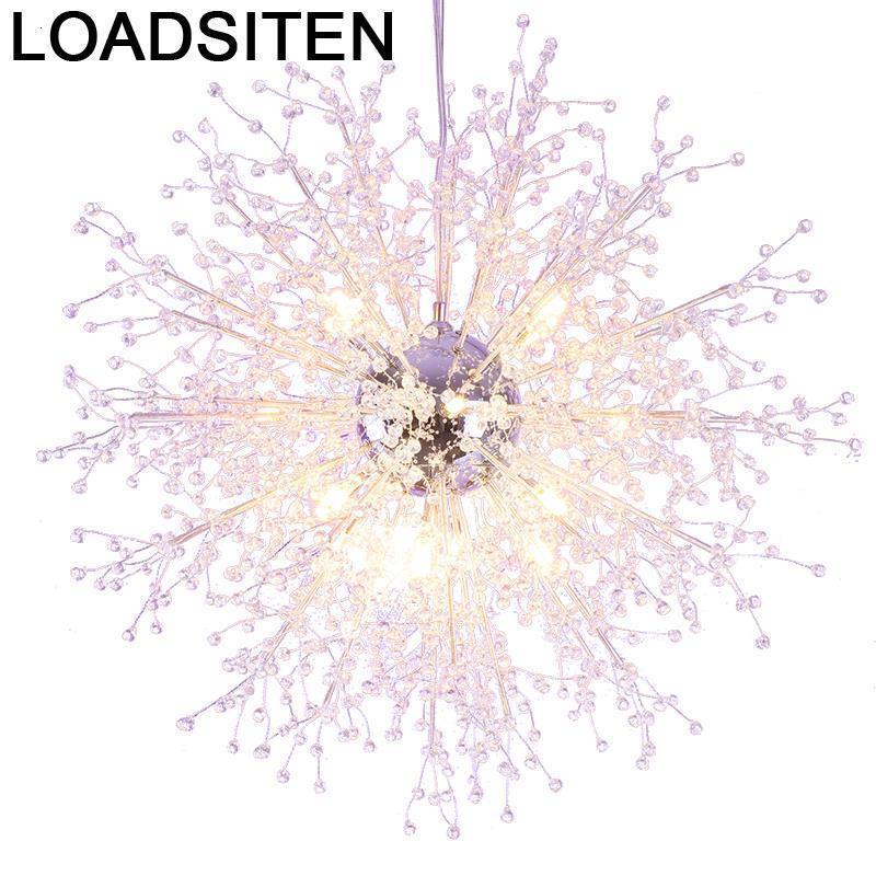 Luster Pendelleuchte LED HanglamPen Cristal Loft Luminaria de Techo Colgante Moderna Suspension Luminaire suspension suspension Lampes suspendues