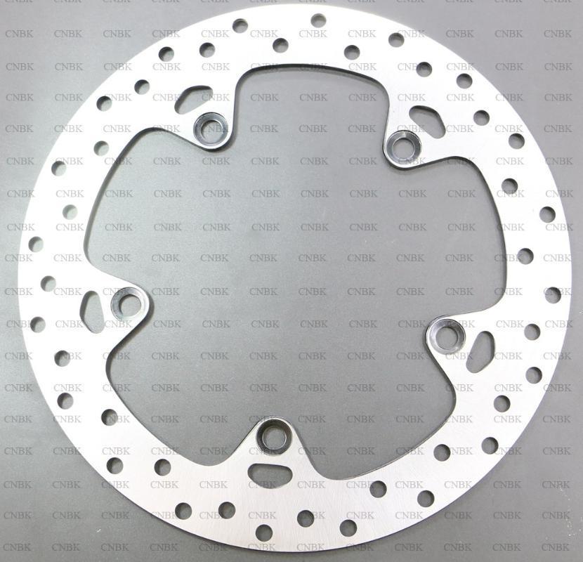 Freios de motocicleta Retro traseiro 265 mm Rotor de travão de disco para F800 GS F800 F800GS 2008 Up 08