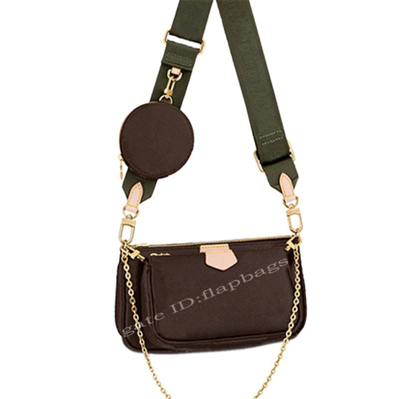 2021 المصممين الفاخرة متعددة pochette الملحقات الكتف حمل حقيبة المرأة حقائب crossbody mahjong أكياس مخلب الأزياء حقيبة المحافظ محفظة حقيبة الظهر