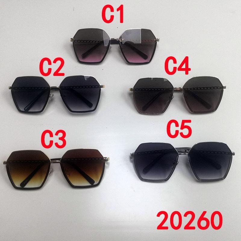 Mode übergroßen Metall Sechskant-Sonnenbrille Unregelmäßige Persönlichkeit Damenbrille UV400 Vintage Platz Sonnenglas Frauen Designer Luxusgeschenk