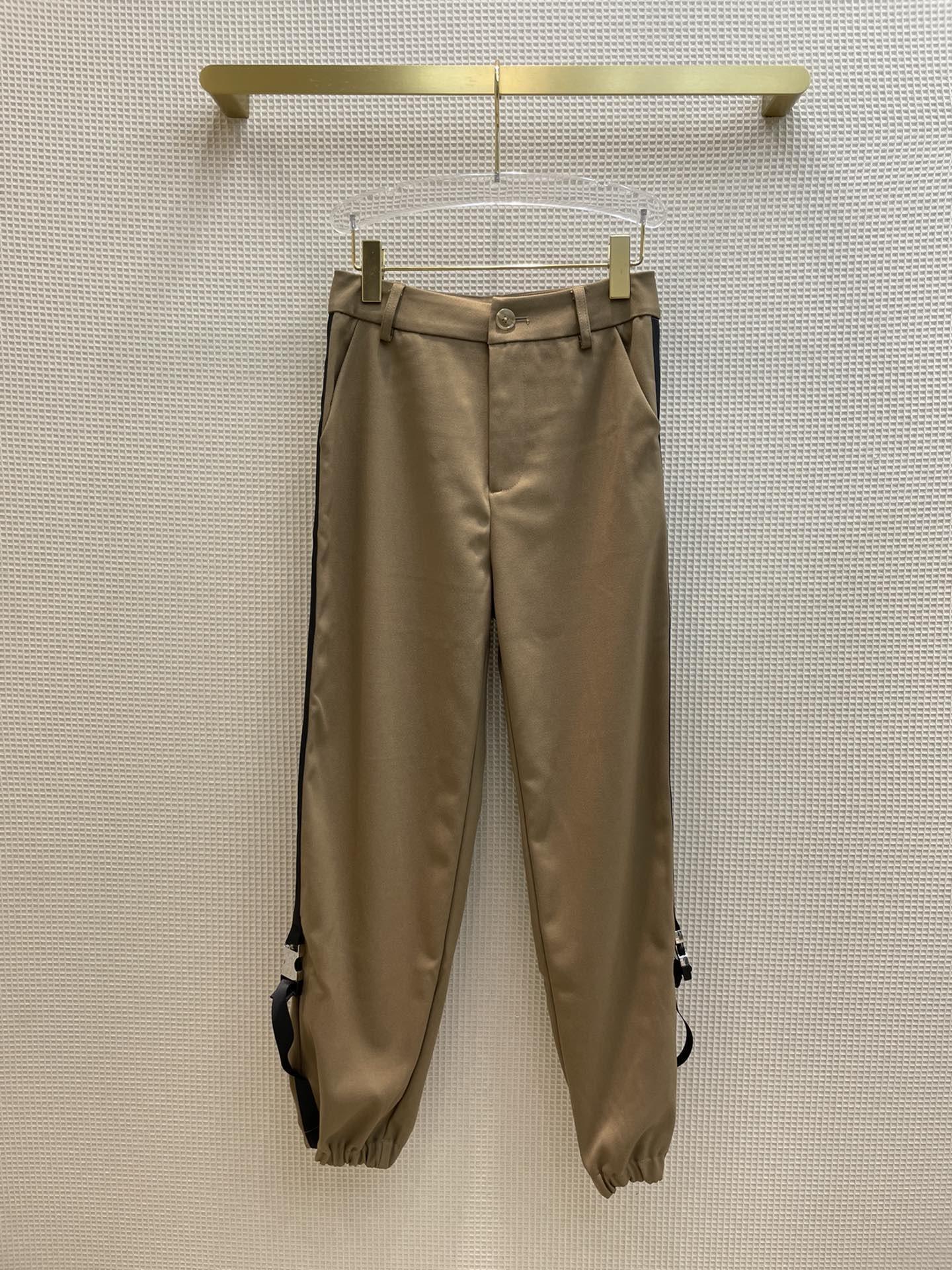 Milan Pist Pantolon 2021 Sonbahar Spor Giyim İlkbahar Yaz Moda Tasarımcısı Pantolon Marka Aynı Stil Pantolon 0829-15