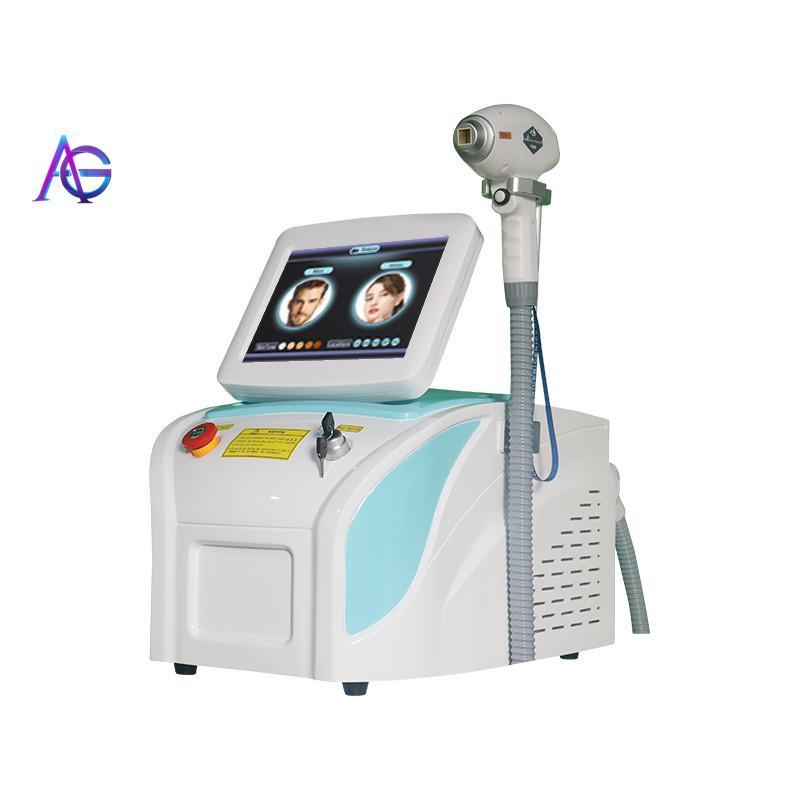 Hight Technology Diode 808 Laser Skin Rajeunissement pour l'épilation permanente d'épilation permanente Équipement de beauté