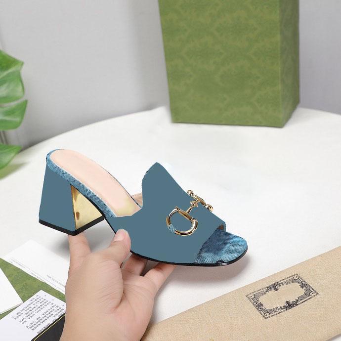 Дизайнерские Женщины Высокие каблуки Сандалии квадратные ДОЕК ТОВАРЫ КОМАНДЫ HOSKBIT GOLD Тонированные скольжения Партия Свадебные насосы с коробкой