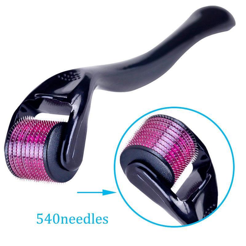 Micronedle Roller 0.2mm-3.0mm 540 Micro Naalden Huidtherapie Zorggereedschap