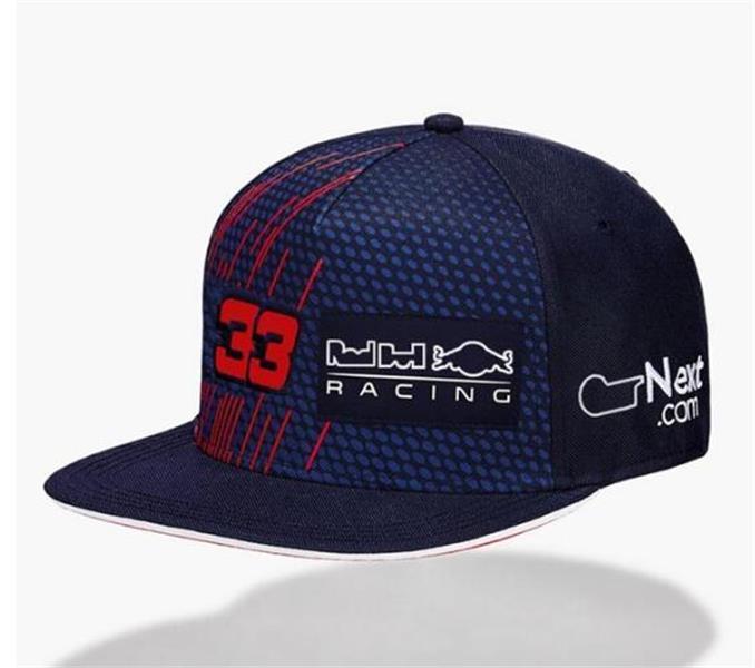 F1 Formula One Capuchon Casquette de baseball de logo brodé complet