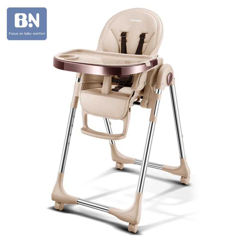 Multifunctional plastic authentic portable baby seat baby dinner table multifunction adjustable folding chairs for children