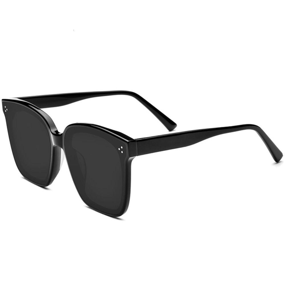 Gafas de sol polarizado dirigindo sol vidro homens mulheres grande forma quadrada óculos de sol emprestador de sol polarizados