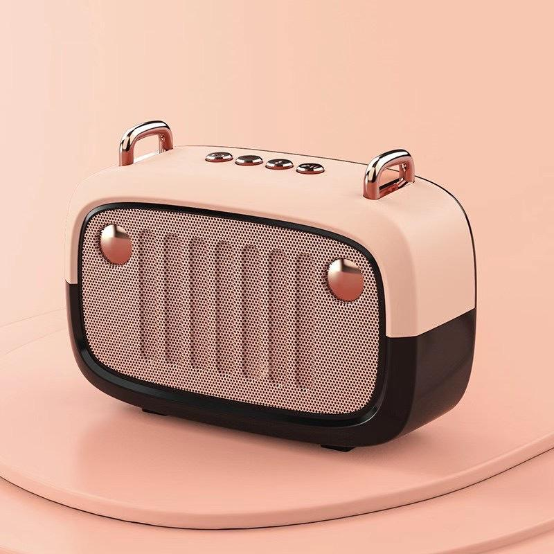 Speaker BS32D Wireless Speakers Bluetooth Speaker Cartoon Subwoofer Outdoor Speaker Support TF Card/U Disk/FM Wireless Subwoofer