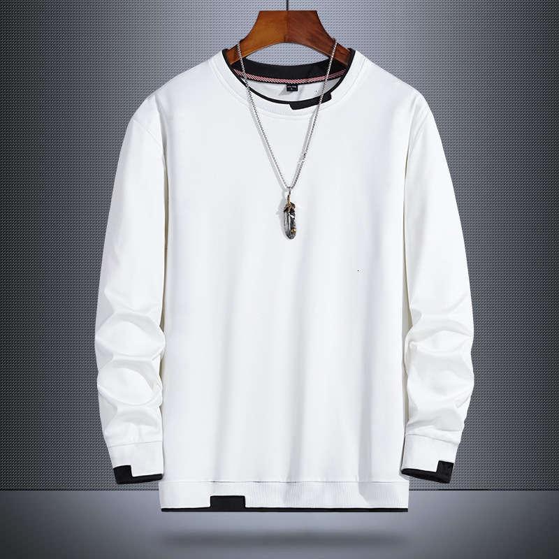autumn Tracksuits Men's round fashion neck long sleeve sweater