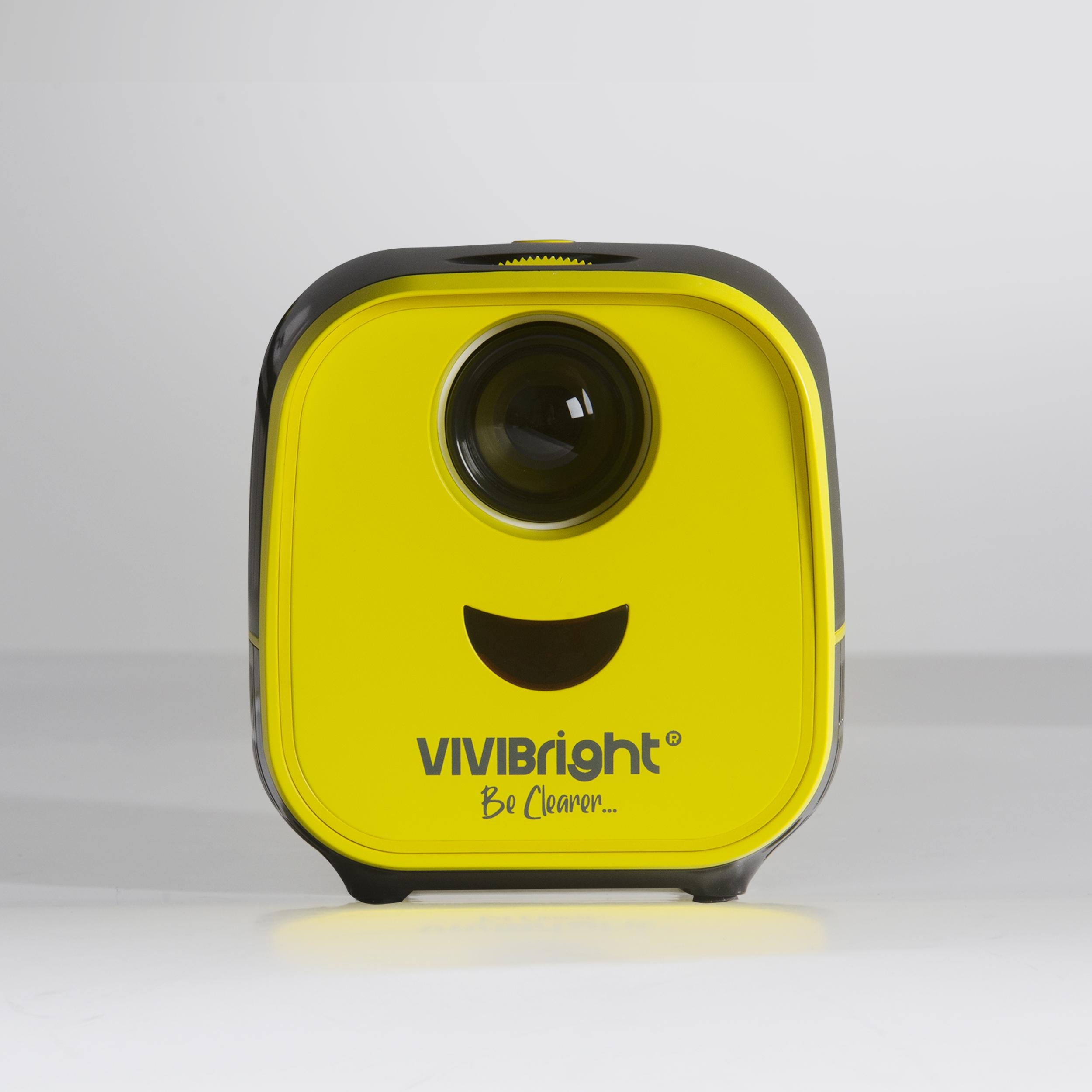Newest! VIVIBRIGHT L1 mini pico led projector kids education for promotional gifts market micro