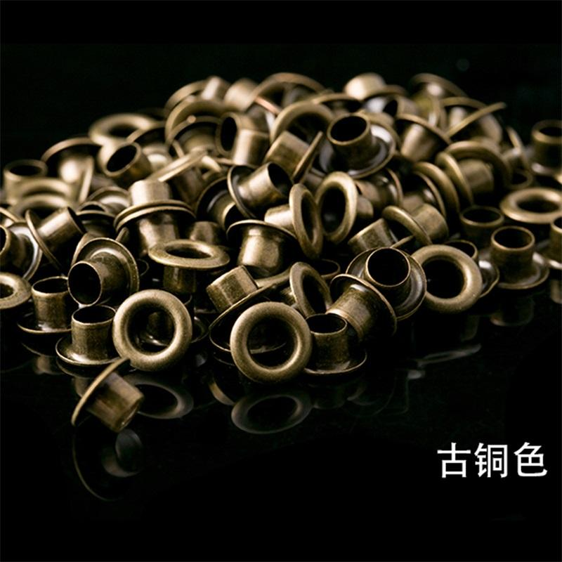 50Pcs Mini Eyelet Buttons for DIY Doll Belt Buckles Metal Buckle Snap Button Bag Shoes Clothes Sewing Accessories 1.5/2.0/2.5mm 1386 Y2