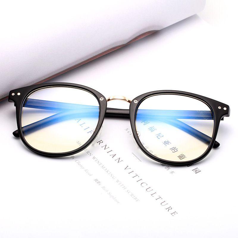 2021 Moda europea y americana de lujo Gafas de sol de lujo con marco Doble Remache Espejo Gafas de mujer Espectáculo Estudiante de espectáculo Lente plana