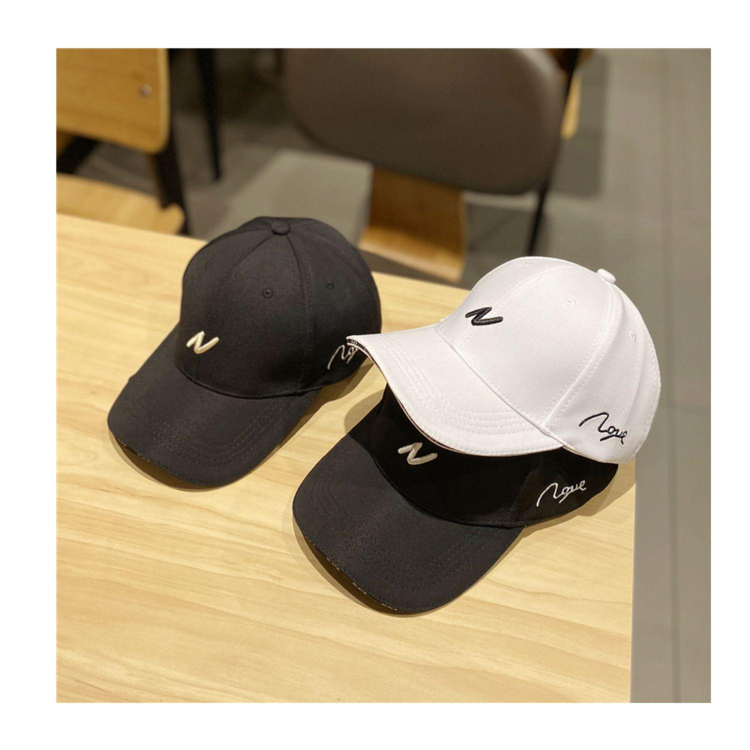 Baseball Cap Japanese leisure simple big letter duck tongue hat Womens spring and summer Korean version fashion peoples face on the street men hats wholesale