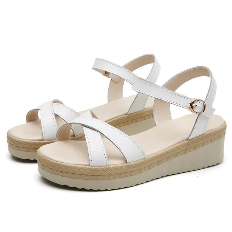 2021 Designer Sommer Kreuz Klassische Männer Herren Frau Frauen Damen Sandalen Mode Platform Net Red Schnalle
