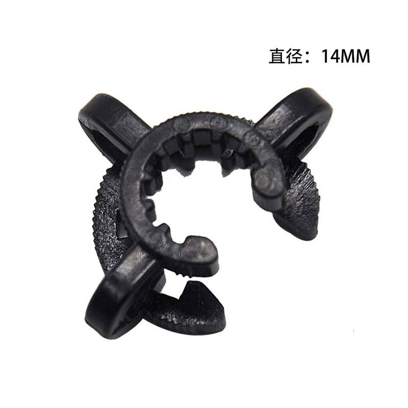 10mm 14mm 18mm Plastic Keck Clip for Glass Bong Adapter Downstem Water Pipes Manufacturer Laboratory Lab Clamp Clips Connect 479 S2