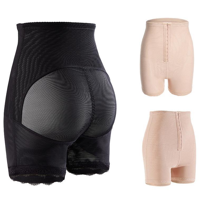 S-6XL Mujeres Shanhewear Slim Pummy Control Bragas de la cintura alta Trainer Butt Lifter Fallo Burning Body Shaper Pantalones