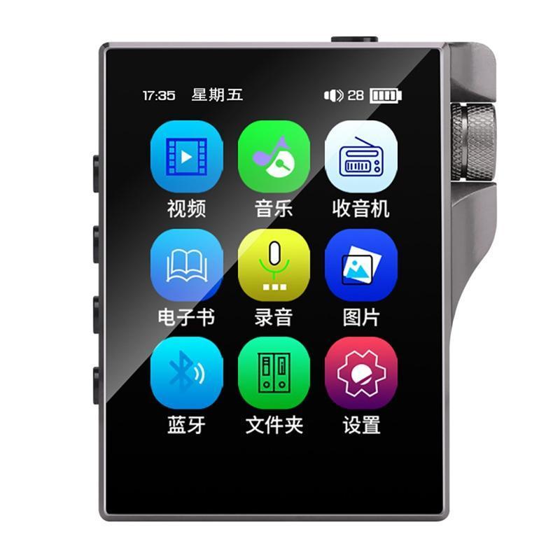 Нажмите на экран MP3-плеер с Bluetooth 16GB Walkman FM Radio Building Hifi Music Audio Video построенный докладчик MP4 игроки