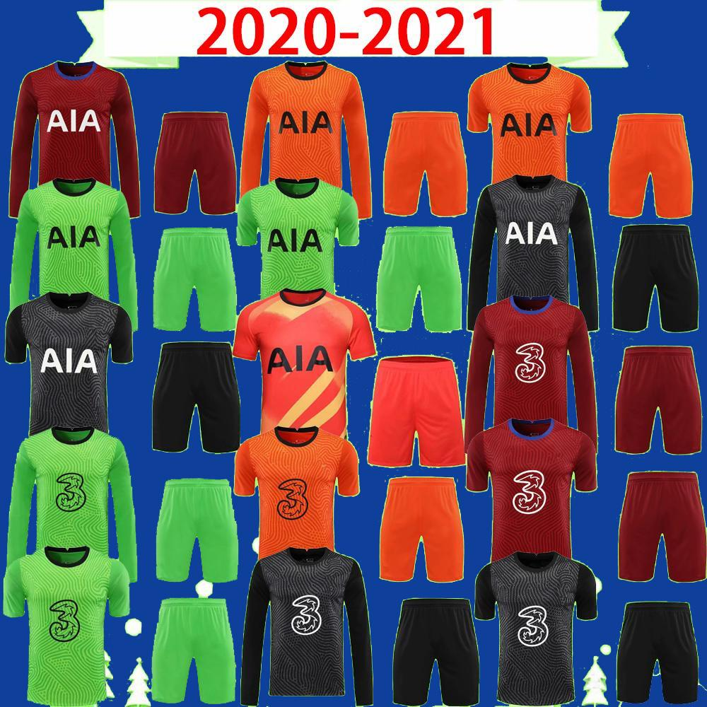 Kit de adultos de manga larga 20 21 MENDY 2021 PORRERO Jerseys de fútbol Kapa Lloris Camisas de fútbol Camisetas de fútbol Hogar lejos Tercer Mens Set Uniformes Alta calidad