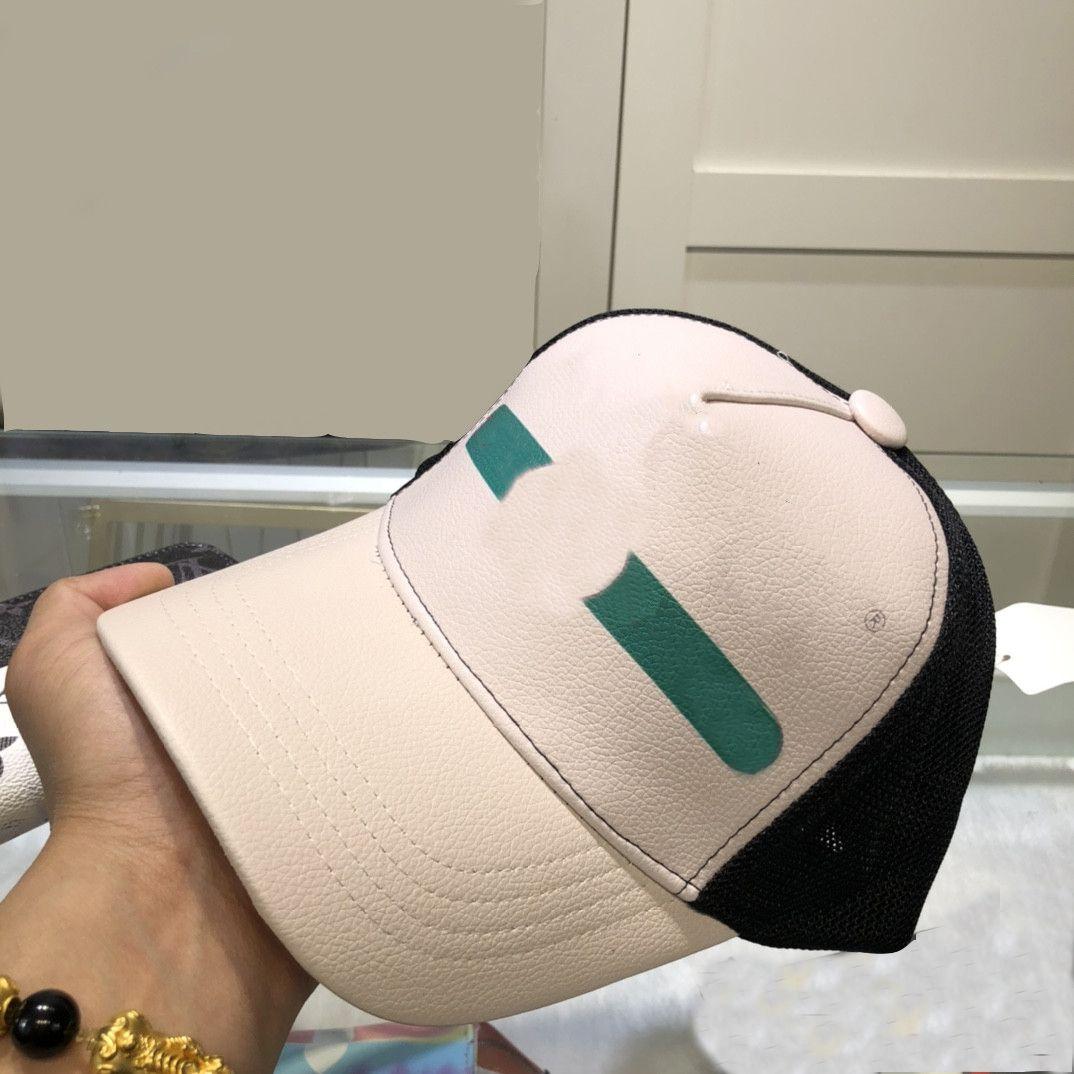 Moda Beyzbol Şapkası Erkek Kadın Yaz Adam Şapka Nefes Sokak Topu Caps ile Harfler Dome Casquette 2 Stilleri