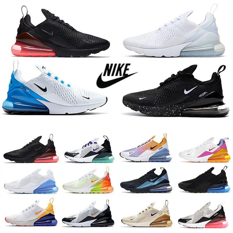 Triple blanco 270 zapatillas para correr para hombre UNC volt negro Antracita BARELY ROSE Habanero University Rojo azul Grape tiger Olive 270s hombre mujer zapatillas deportivas