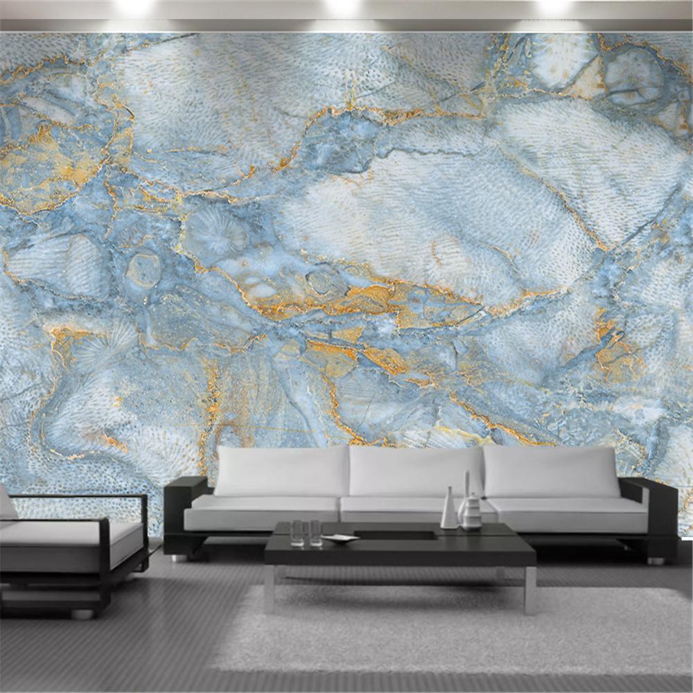 3D Wallpaper Nordic Italy HD Marmor Muster Dekorative Innenwand Schöne Wohnkultur Malerei Wandbild Tapeten Wandbekleidung