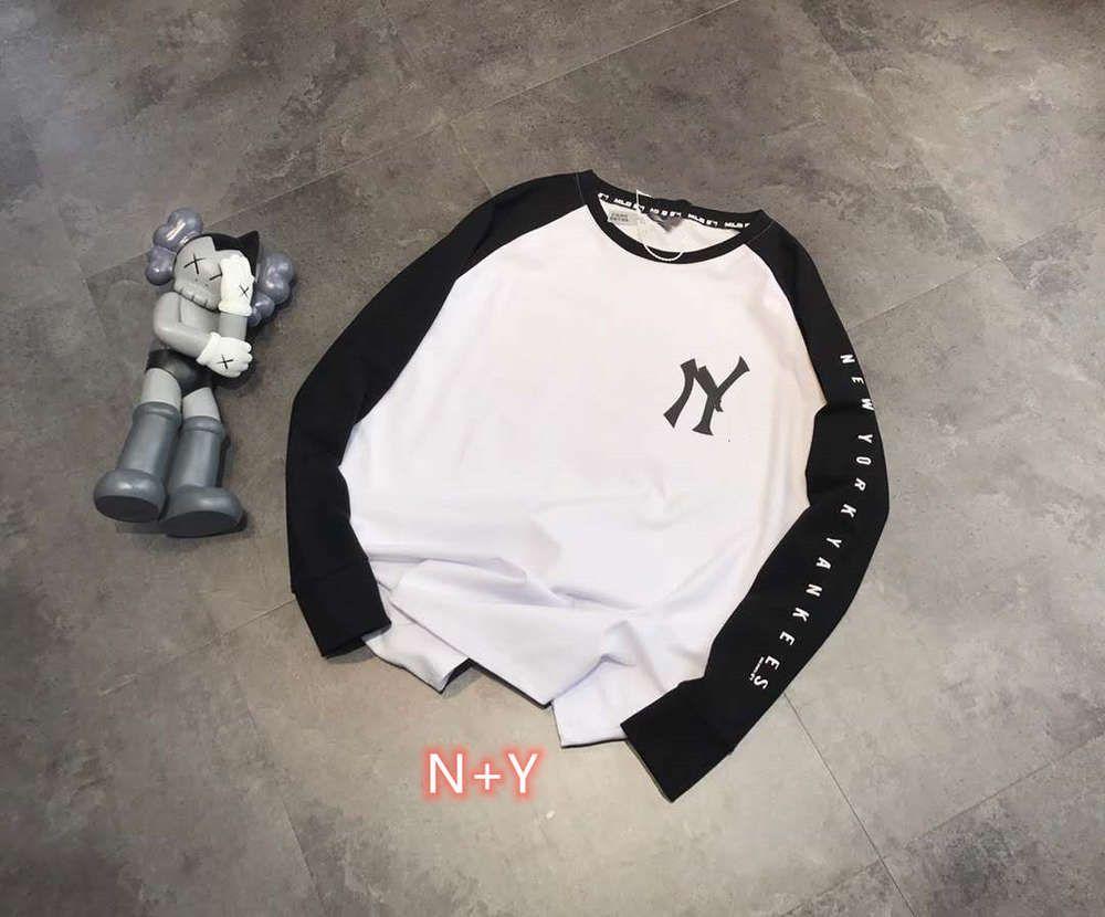 Hohe Qualität 1: 1 Hoodie Mode Marke N + Y Color Matching Raglan Langarm Pullover im frühen Herbst