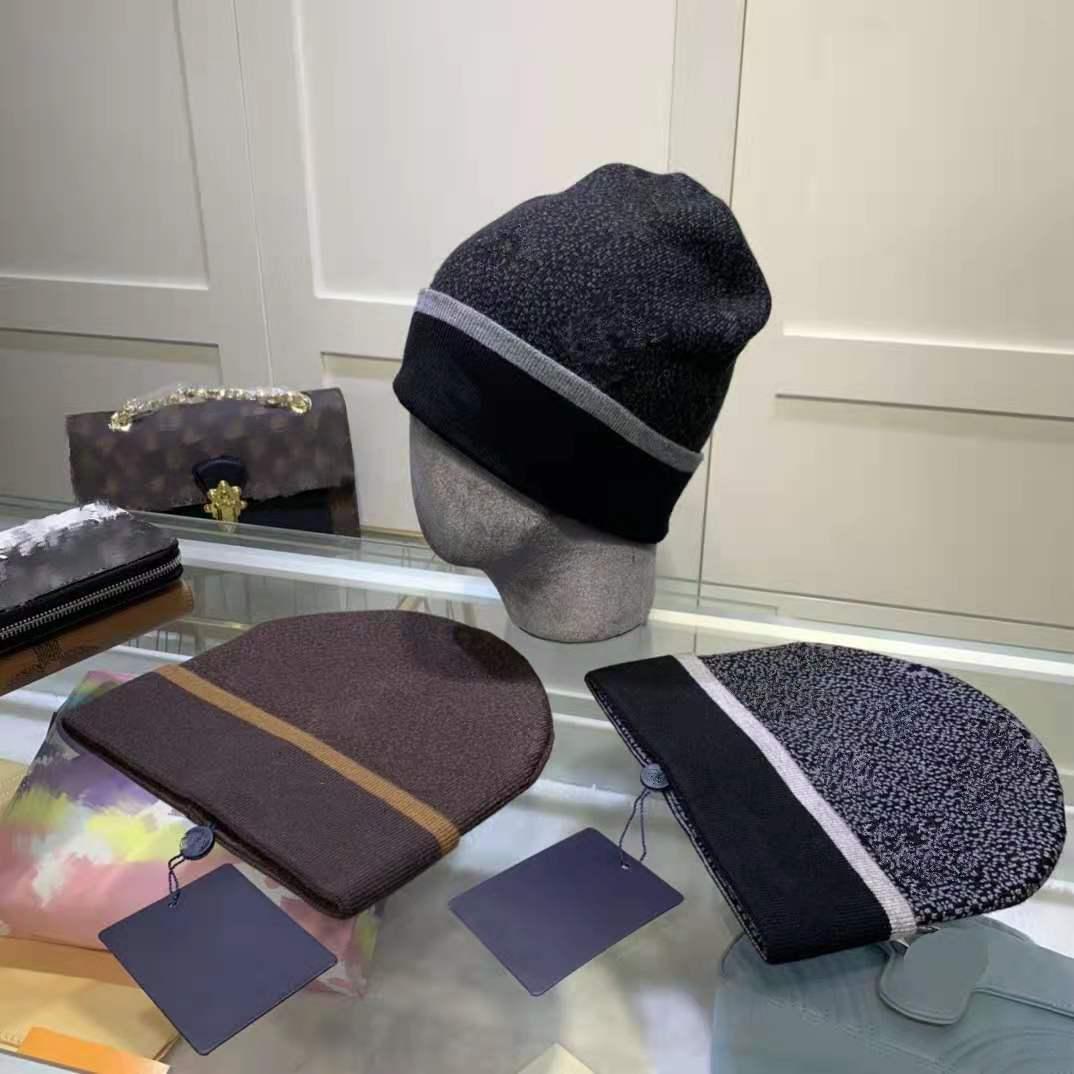 Yeni Moda Bere Kafatası Kapaklar Yüksek Kaliteli Beanie Unisex Örme Şapka Klasik Spor Kapaklar Bayanlar Casual Açık Sıcak Için Sıcak Sıcak