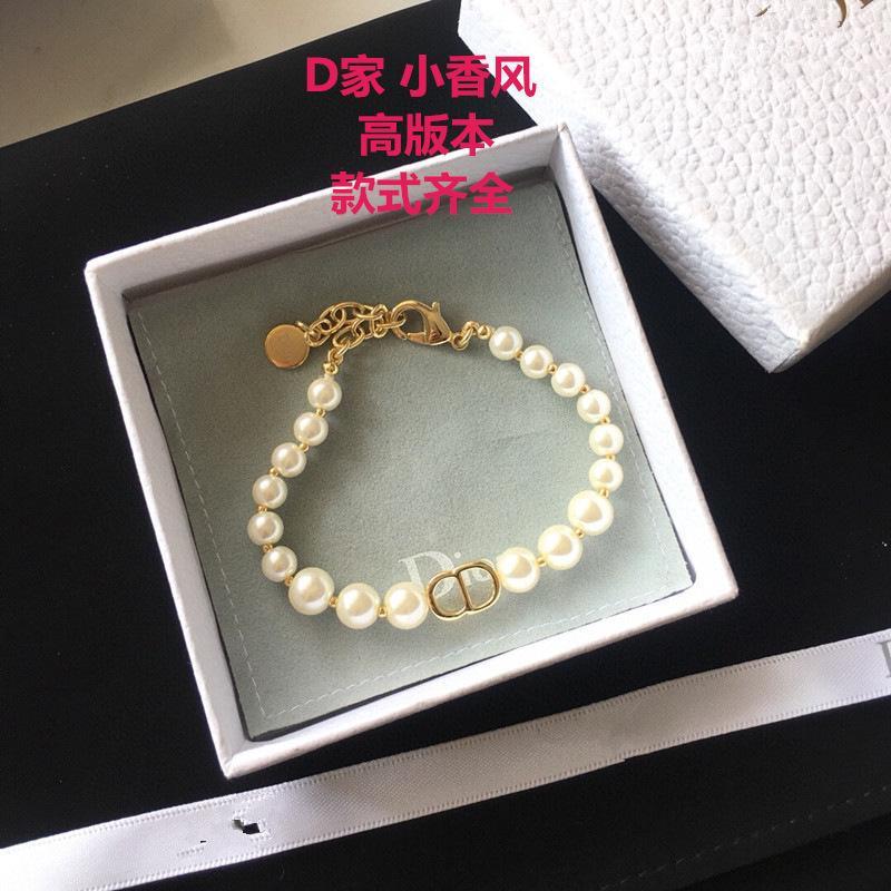 D Pulsera de perla de la familia Joyería de mano de alta versión de mujer
